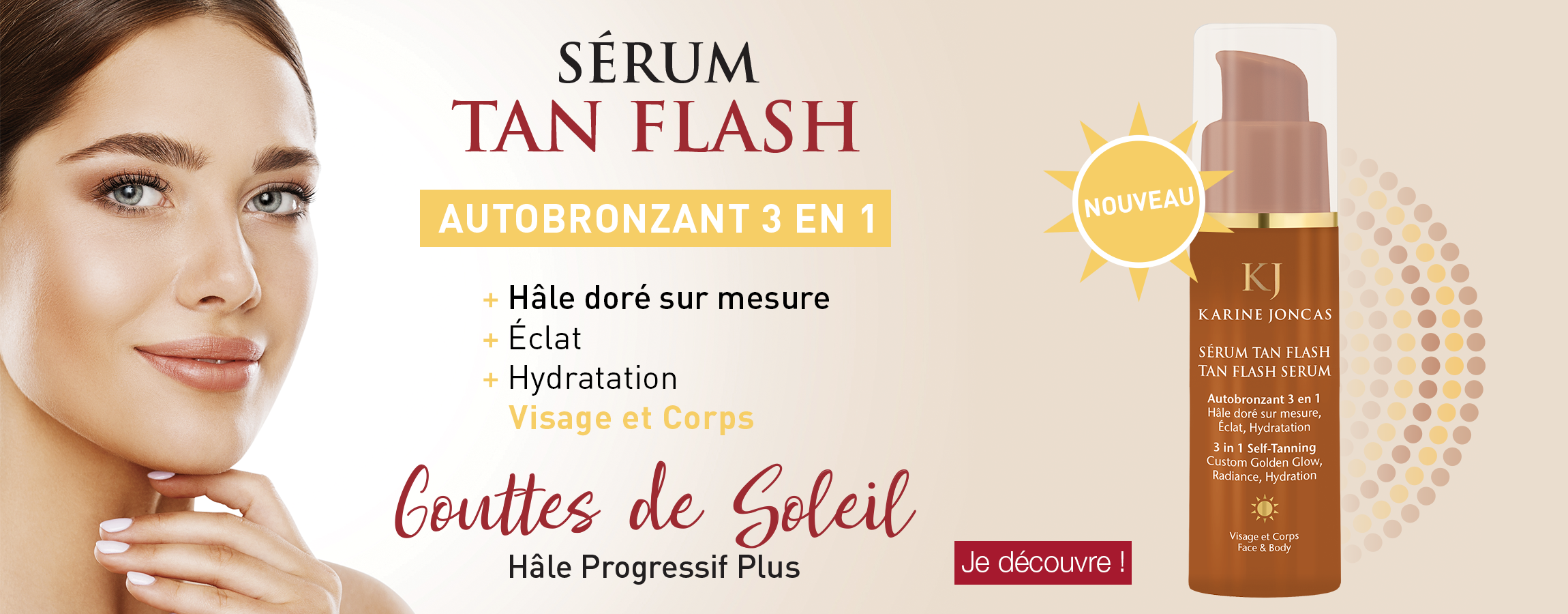 Sérum Tan Flash